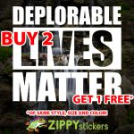 Deplorable Lives Matter Decal - Vinyl Decal Sticker - Trump Deplorable - DLM